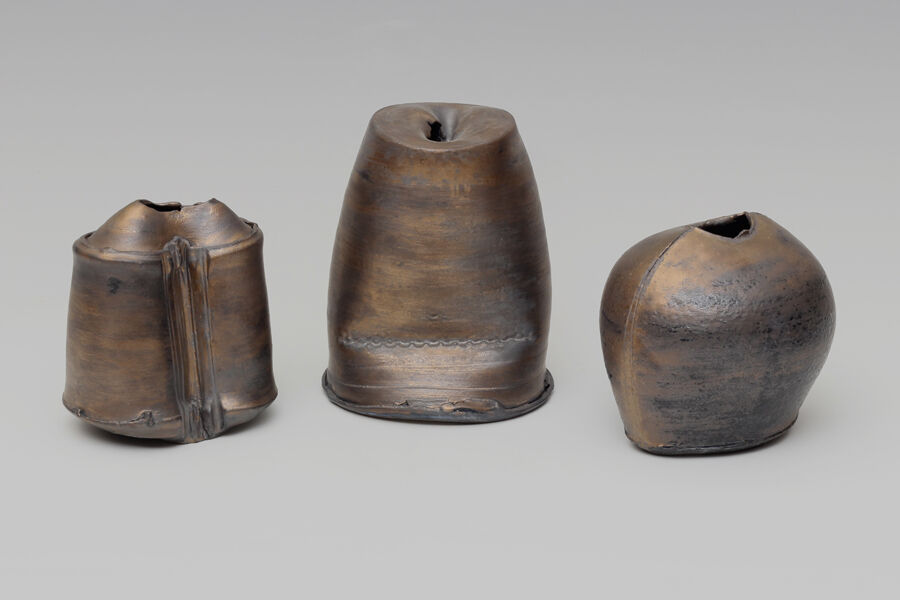 Dan Kelly | Ceramic Vessels with bronze glaze | Nov 2020