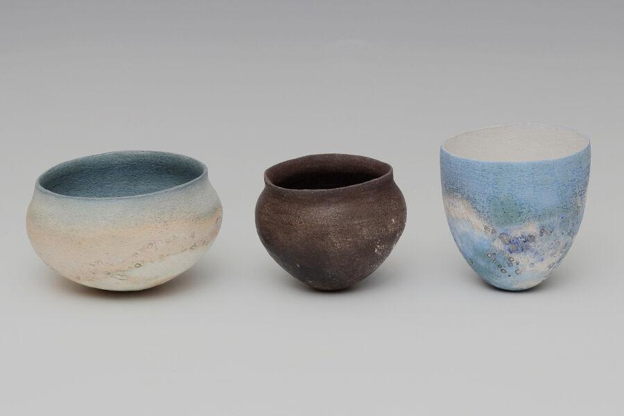 Elspeth Owen | Three Ceramic | Jars | MIAR Arts | Nov 2020