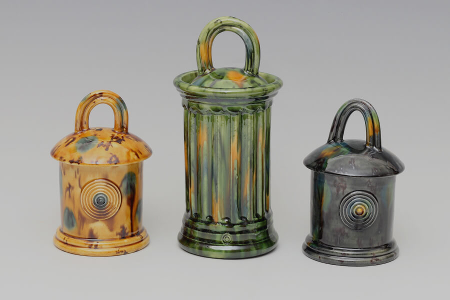 Walter Keeler | Extruded | Earthenware | Jars