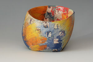 New work by Carolyn Genders soon to be available in the gallery