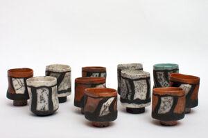 Elizabeth Raeburn Raku Cups