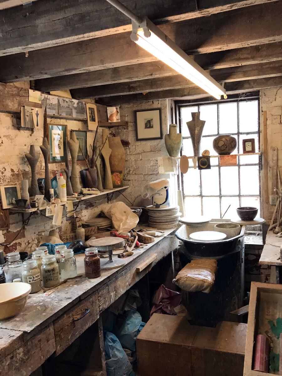 Picture of Chris Carter's studio