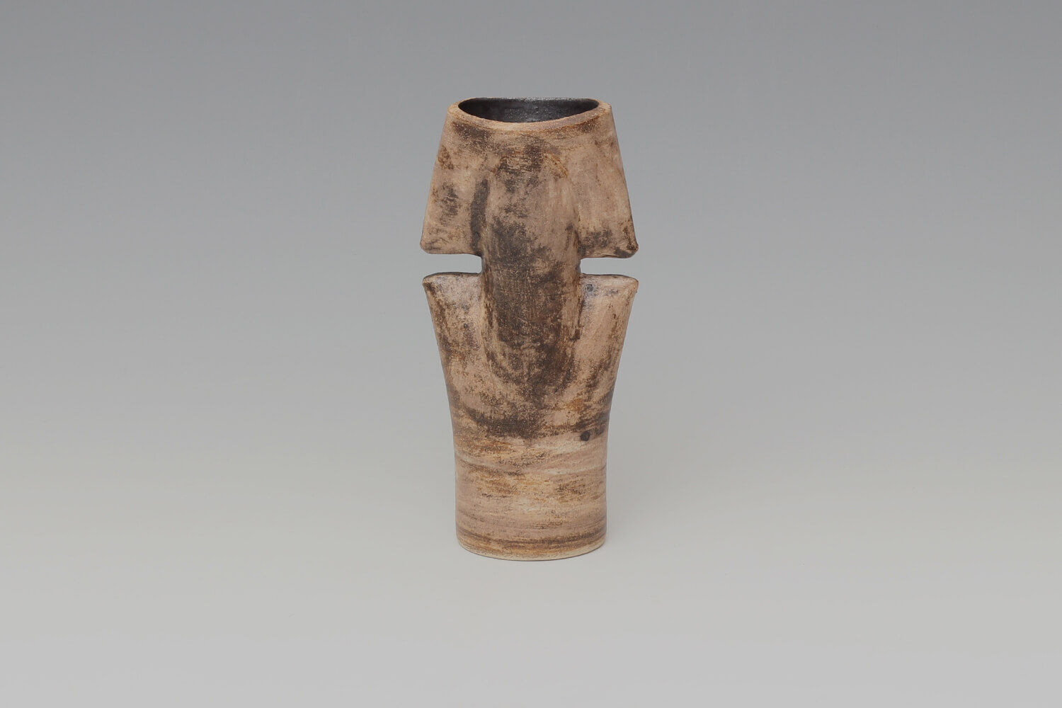 Chris Carter Ceramic Double Totemic Form 148