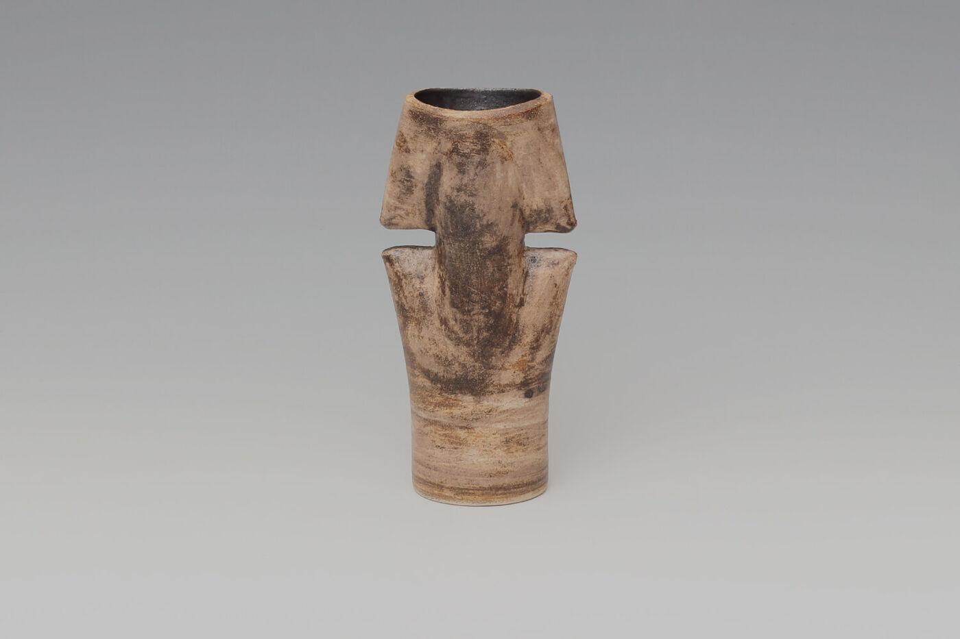 Chris Carter Ceramic Double Totemic Form 148