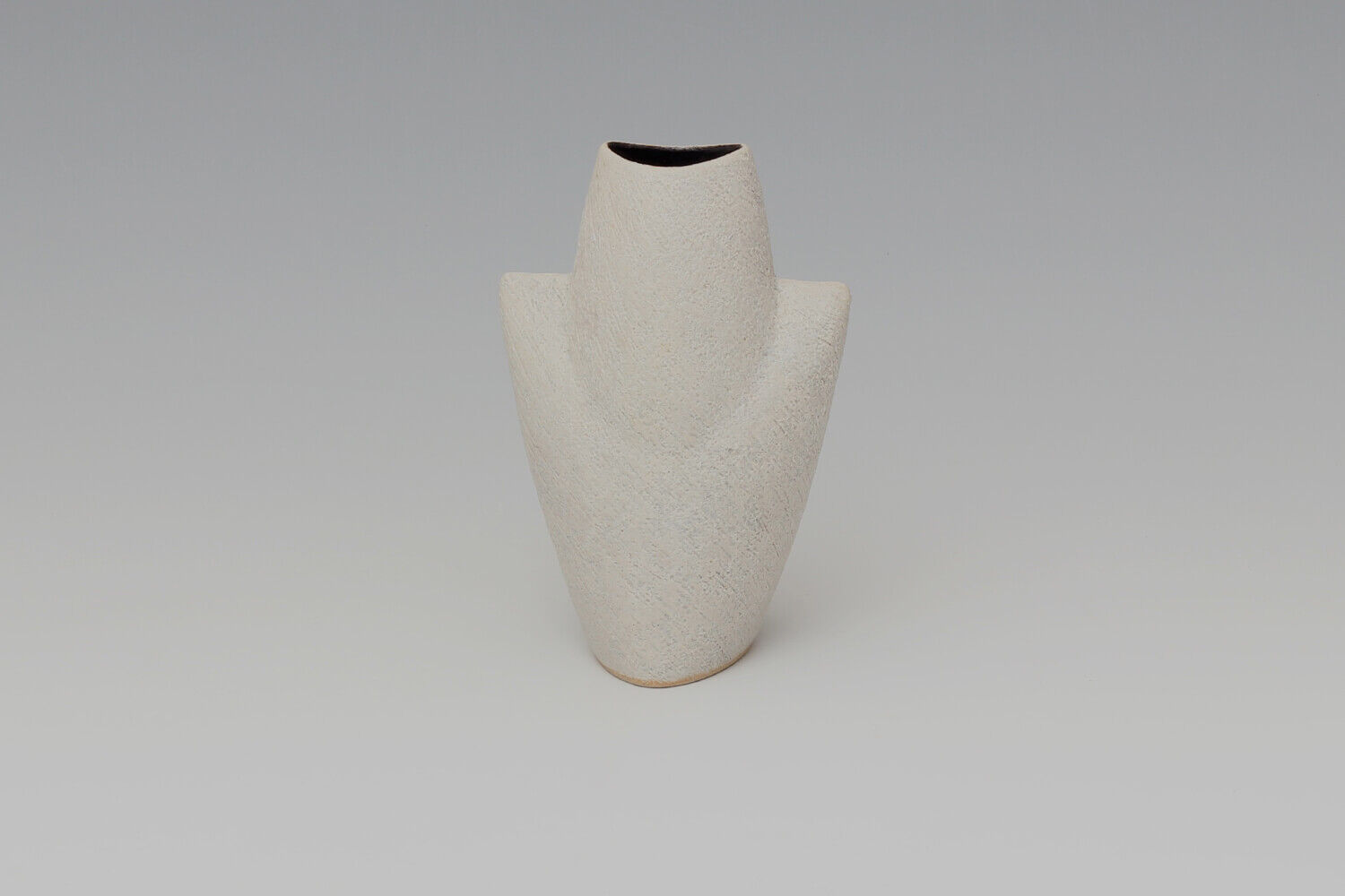 Chris Carter Ceramic White Masked Form 161