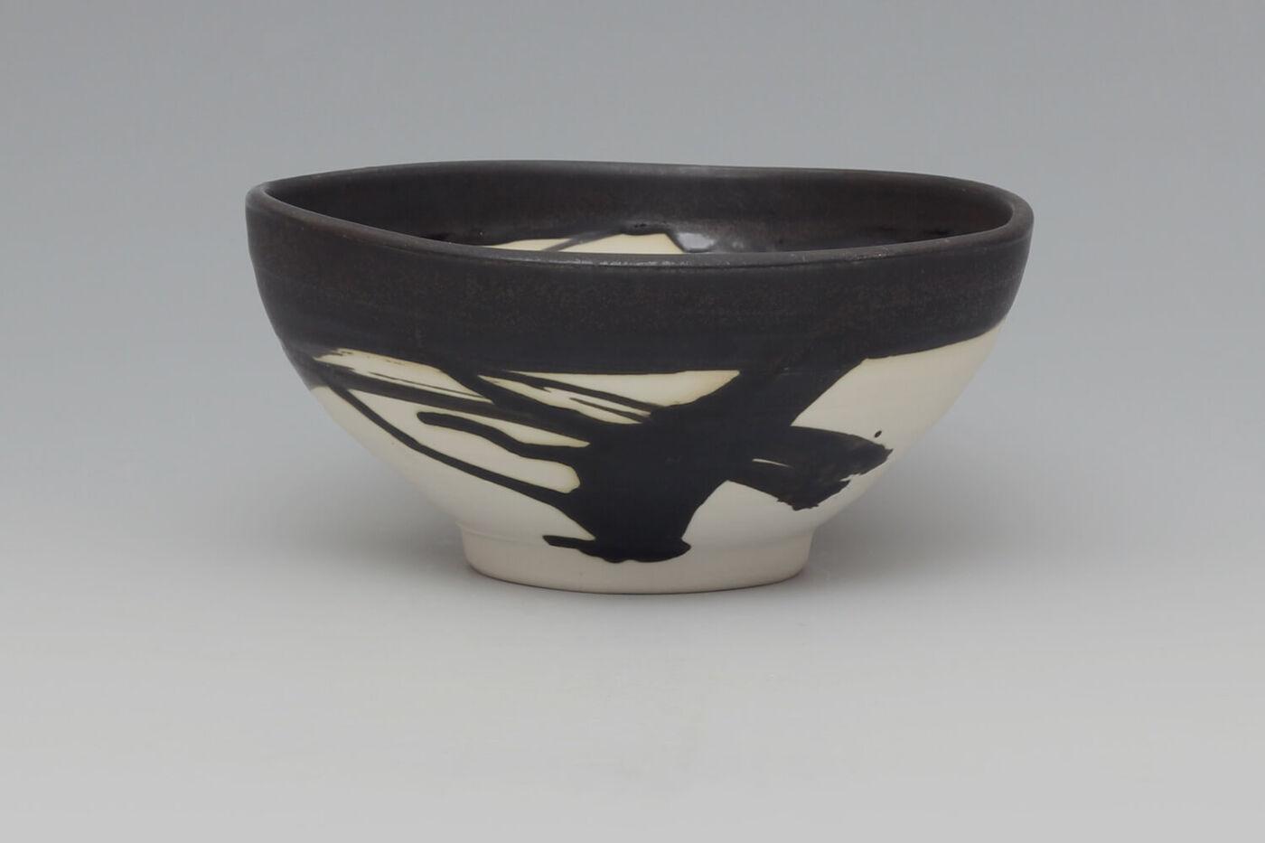 Eric Astoul Ceramic Footed Bowl 01