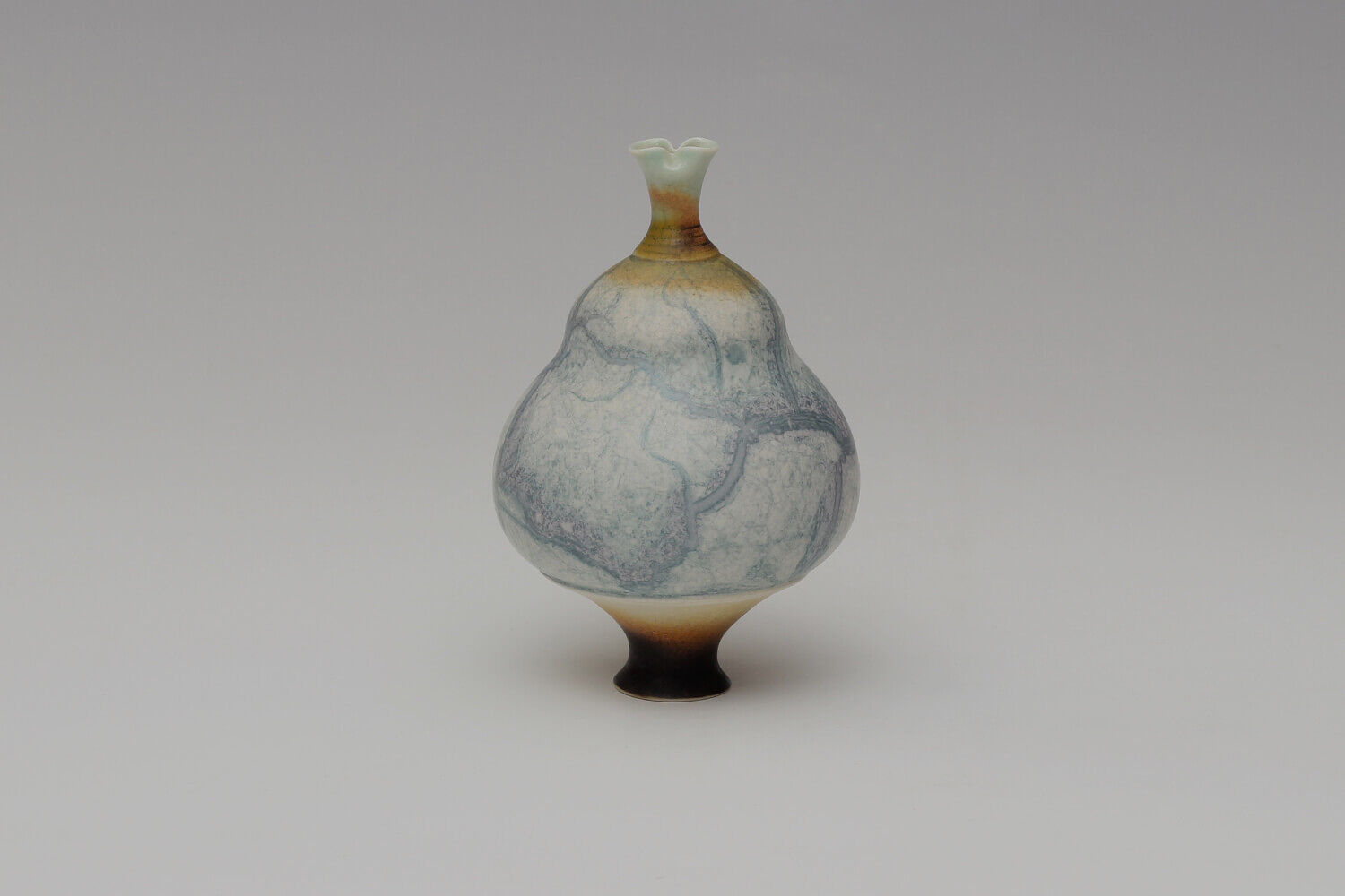 Geoffrey Swindell Ceramic Miniature Vessel 039