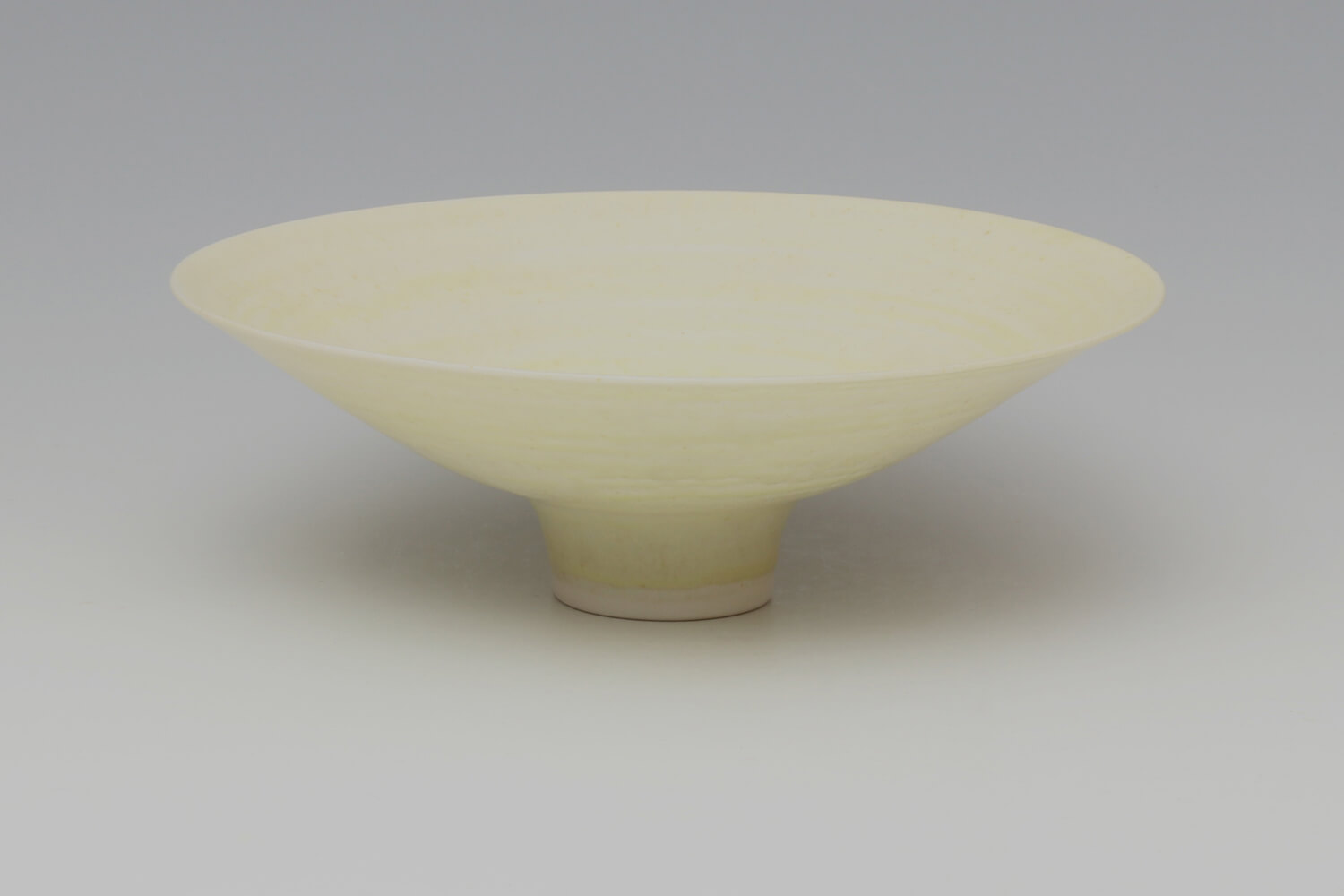 Peter Wills Ceramic Pale Yellow Porcelain Bowl 192
