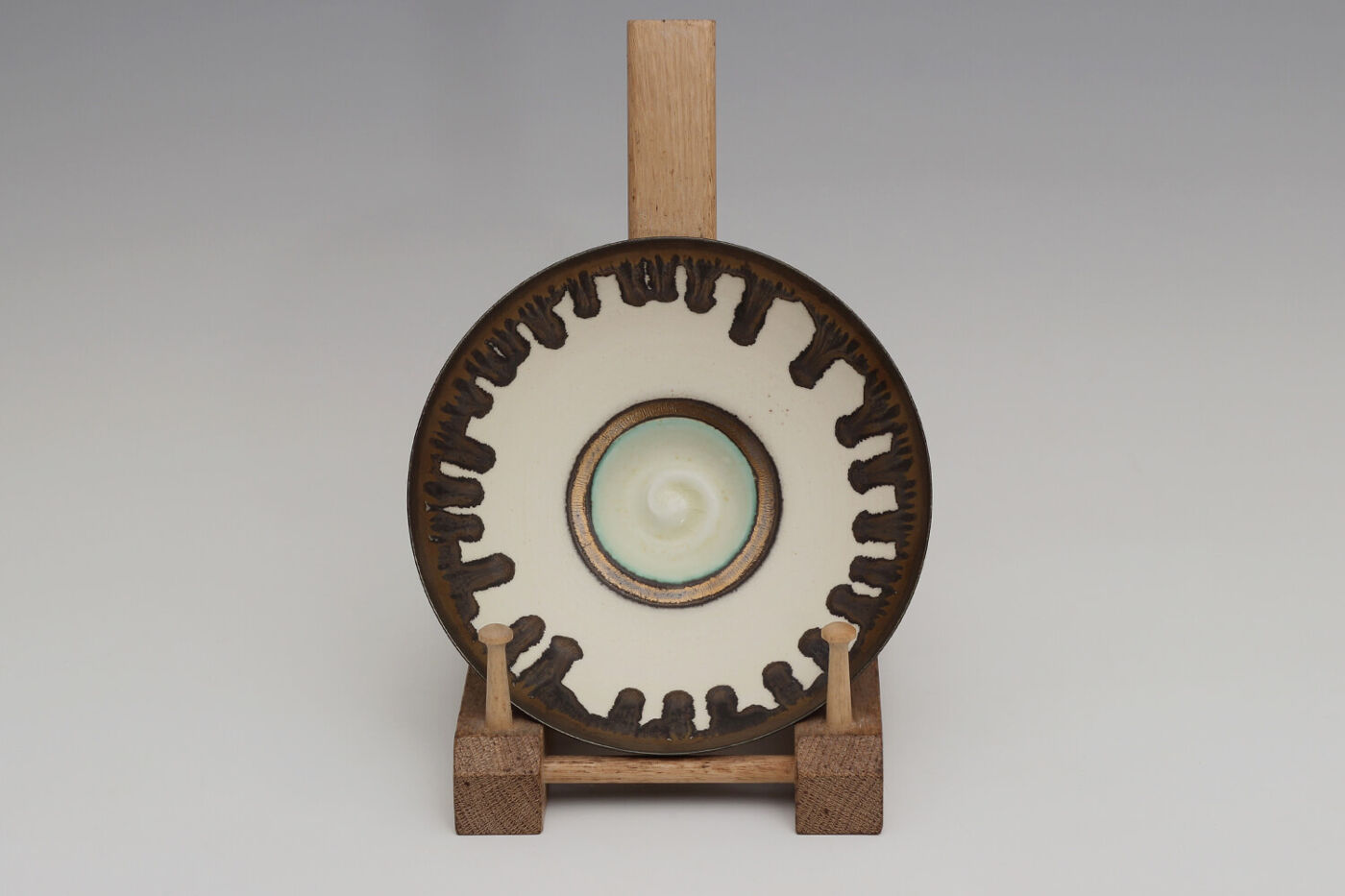 Peter Wills Ceramic White Porcelain Bowl 210