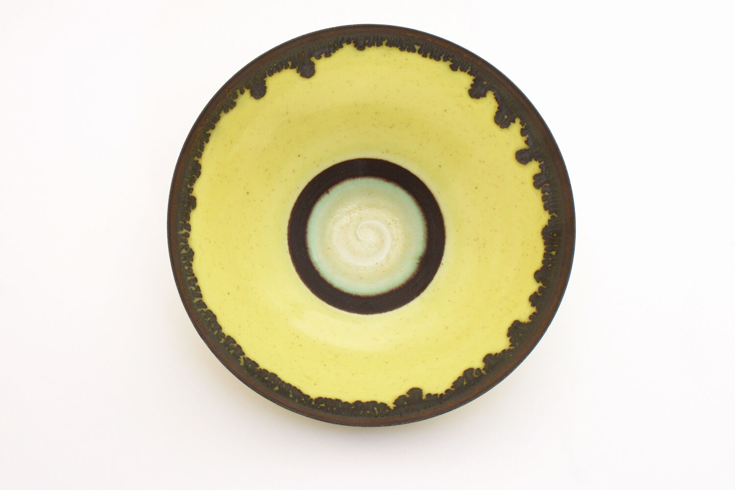 Peter Wills Yellow Ceramic Bowl 134