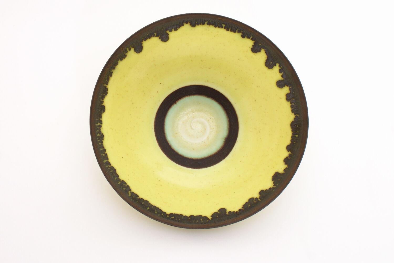 Peter Wills Yellow Ceramic Bowl 134