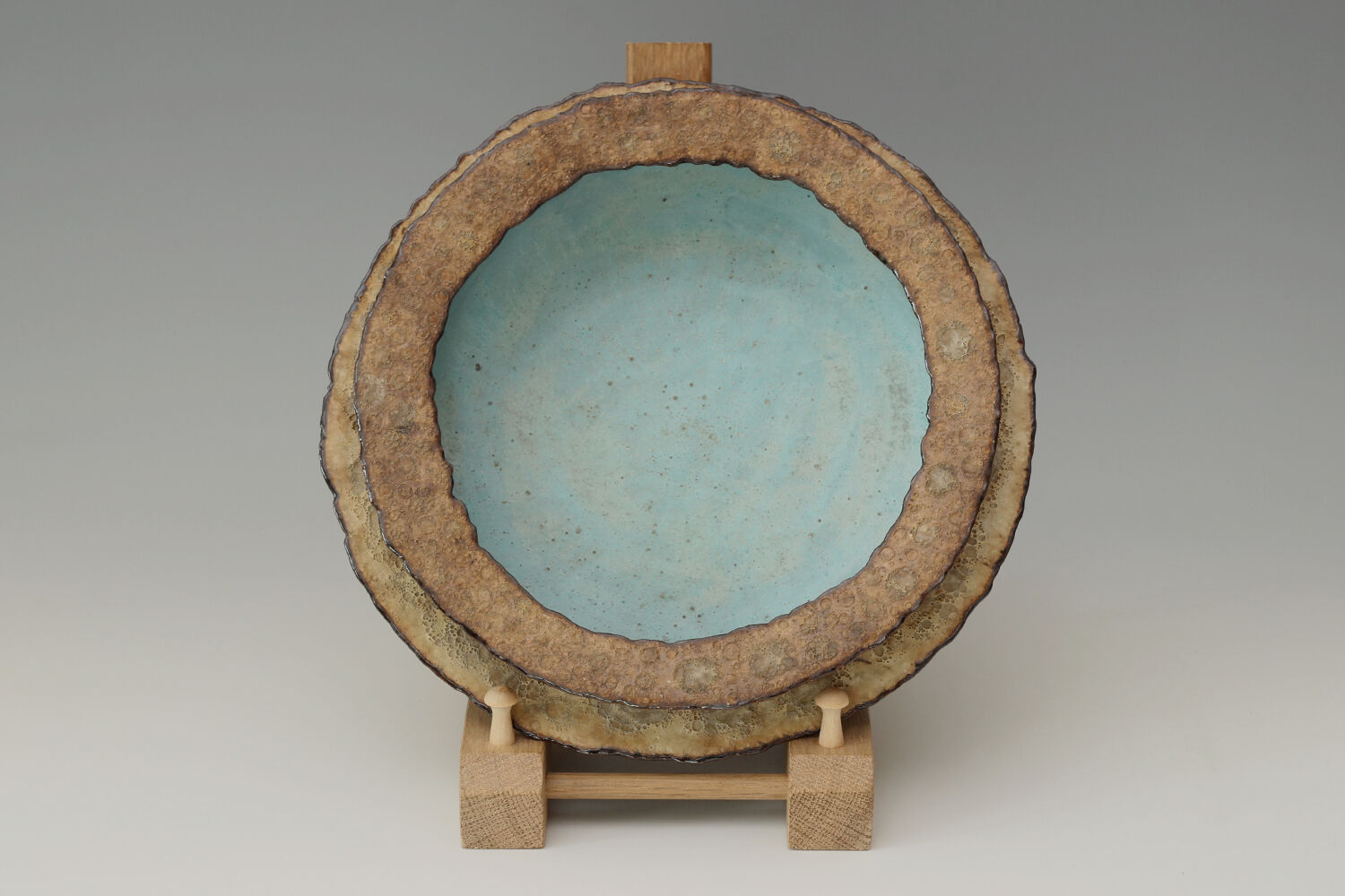 Deirdre Burnett Ceramic Double Rim Bowl 08