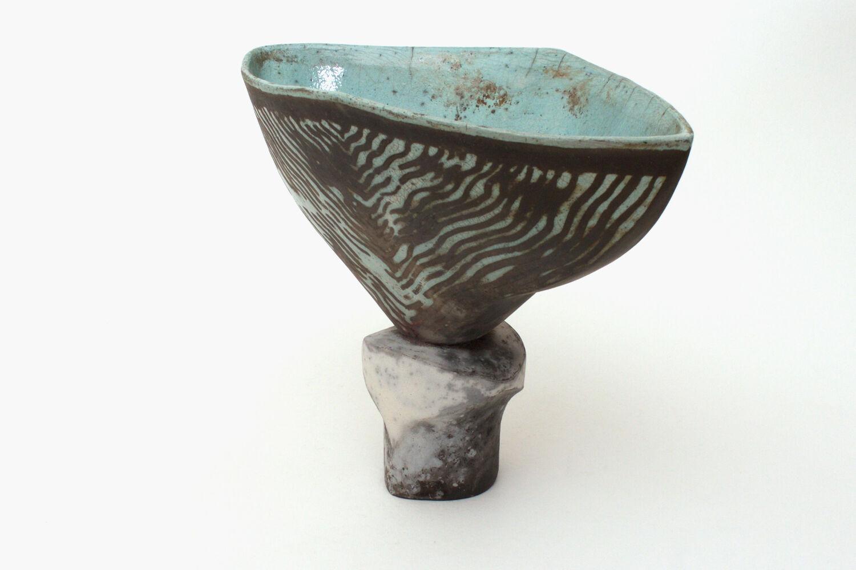 Elizabeth Raeburn Ceramic Raku Sculpture 03