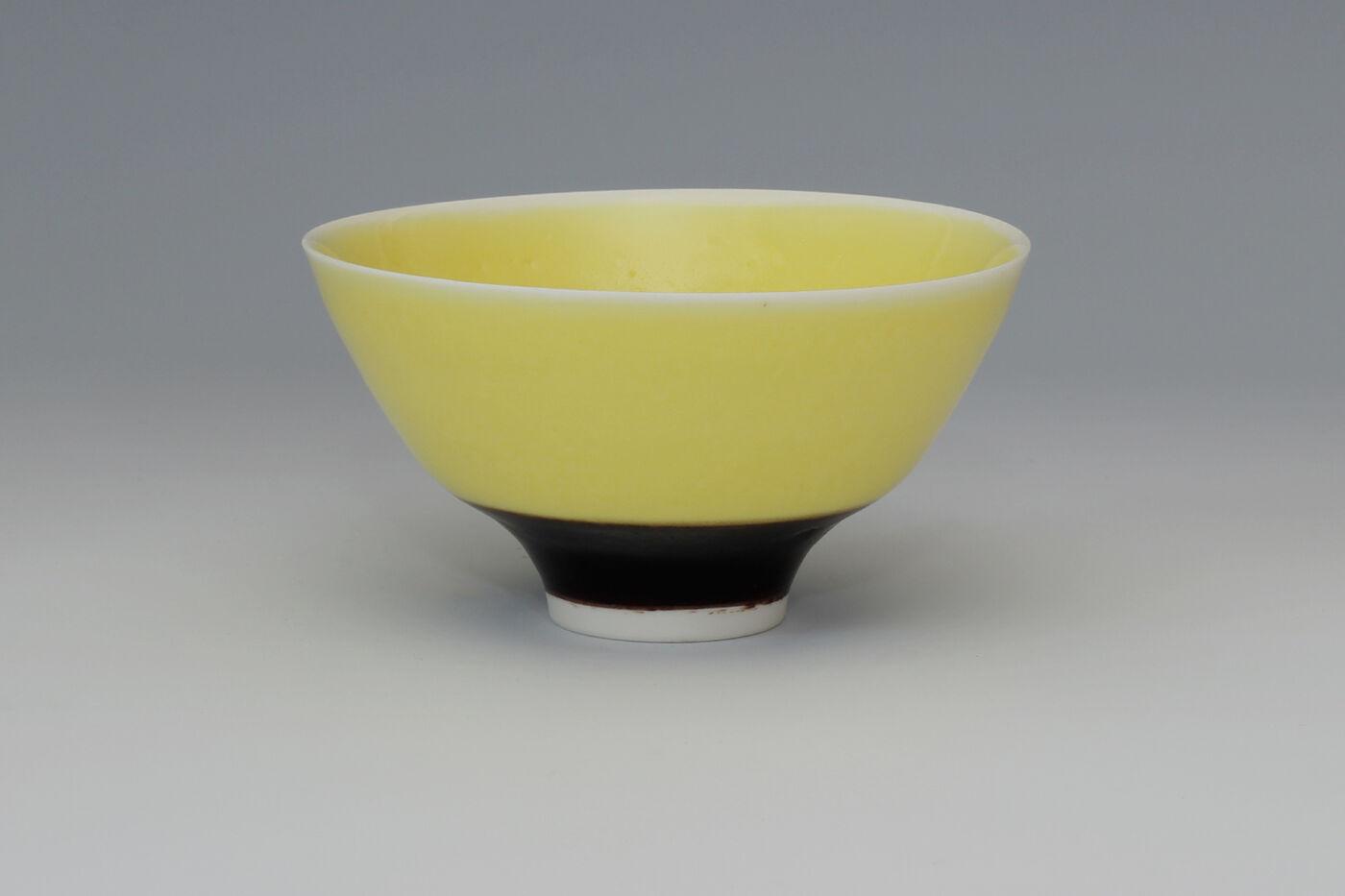 Peter Wills Yellow Porcelain Bowl 167