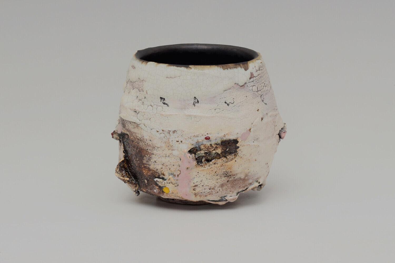 Sam Hall Ceramic Footed Bowl 043