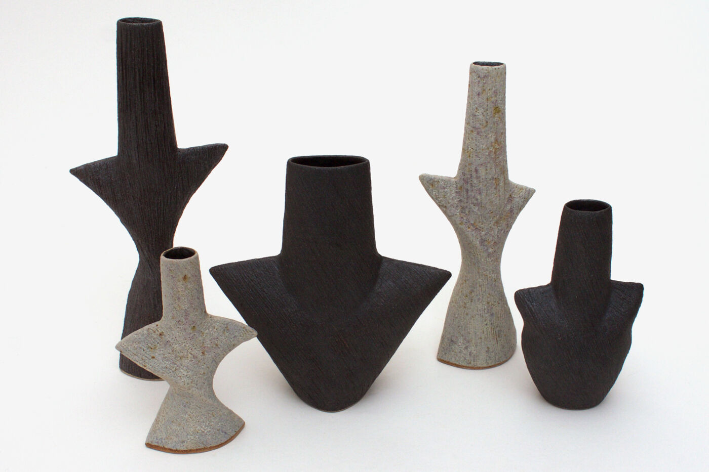 Chris Carter Ceramic Twisting Totemic Form 041