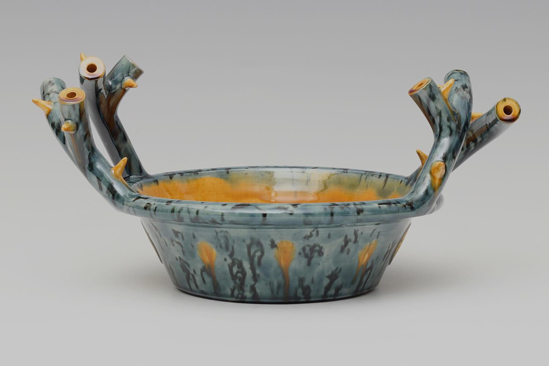 Walter Keeler Ceramic Thorn Handled Deep Dish 05
