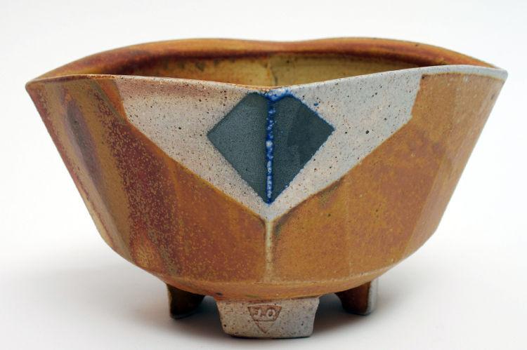 Jeff Oestreich Ceramic Footed Tea Bowl 001