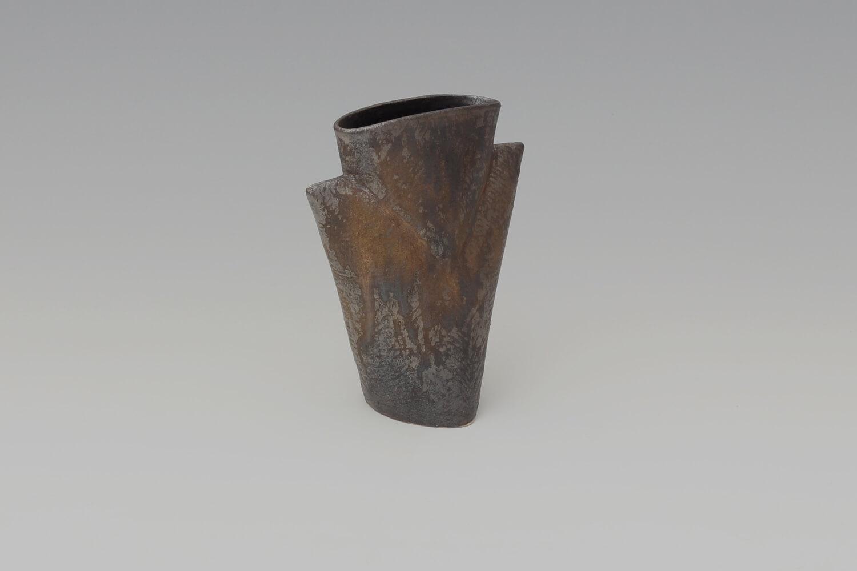 Chris Carter Ceramic Bronzed Masked Form 159