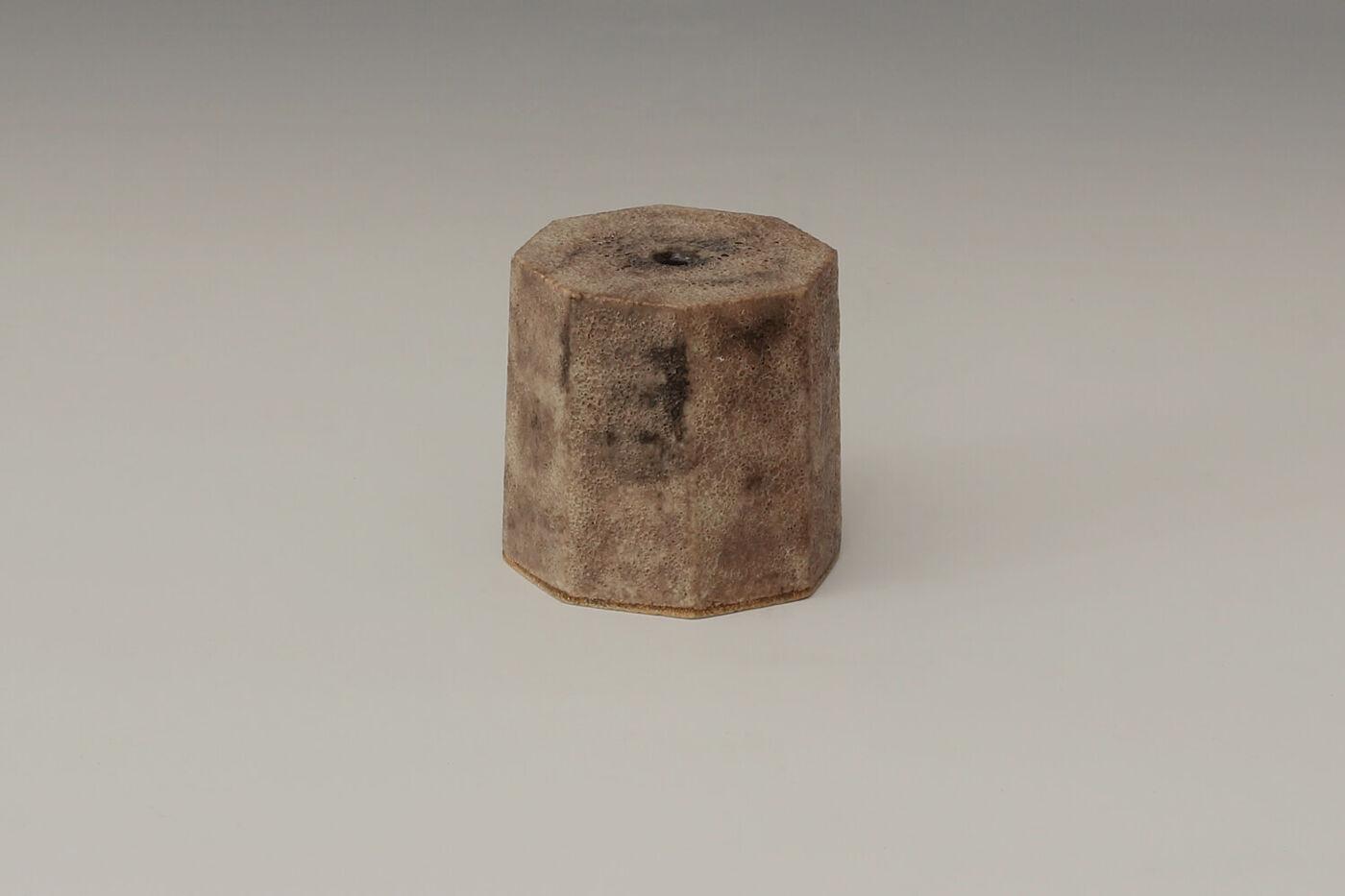 Chris Carter Ceramic Facetted Cylinder 106