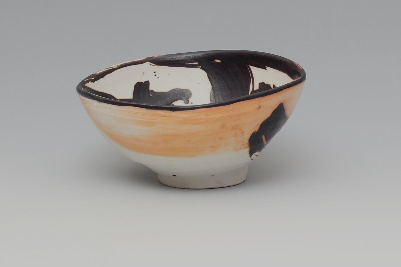 Eric Astoul Ceramic Footed Bowl 03