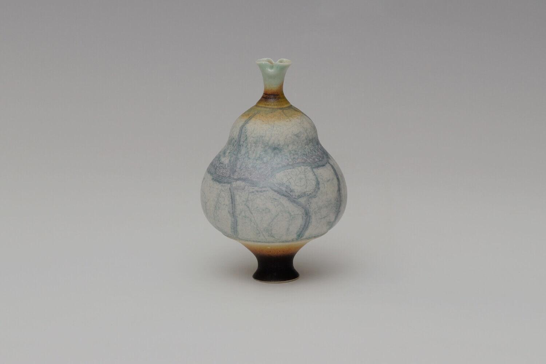 Geoffrey Swindell Ceramic Miniature Vessel 039