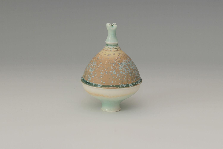 Geoffrey Swindell Ceramic Narrow Stemmed Vessel 28