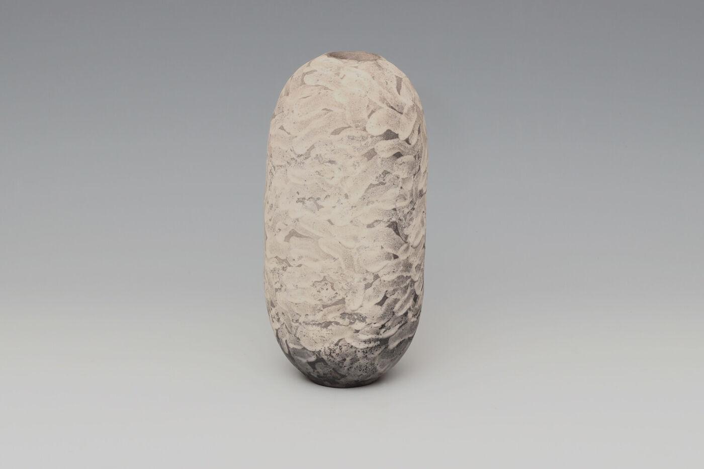 Lara De Sio Ceramic Oval Vessel 02