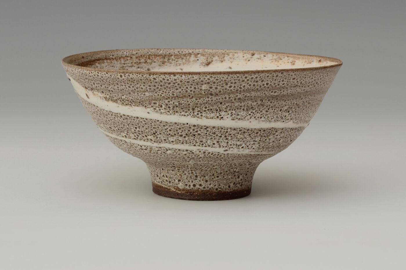 Peter Wills Ceramic Agate-ware Bowl 173