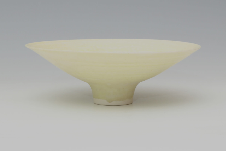 Peter Wills Ceramic Pale Yellow Porcelain Bowl 192