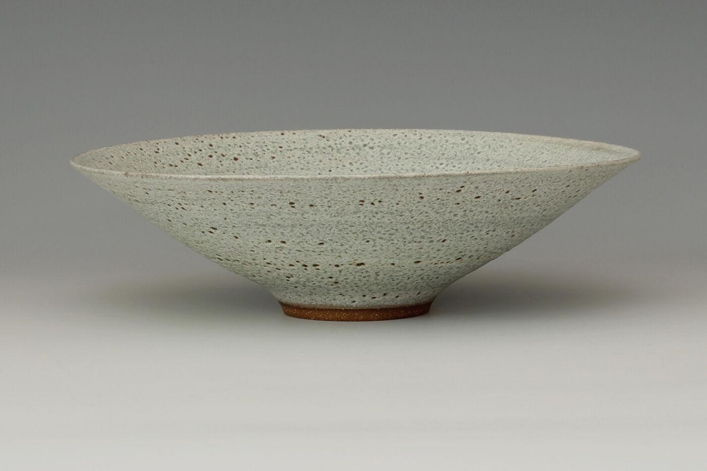 Peter Wills Ceramic Textured Pale Green Bowl 178