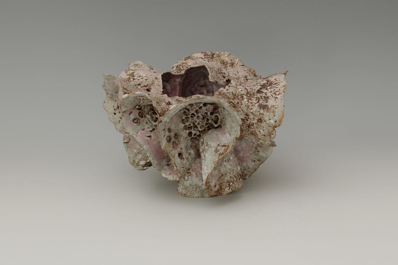 Beverley Bell-Hughes Ceramic Vessel 'Sand Pocket' 01