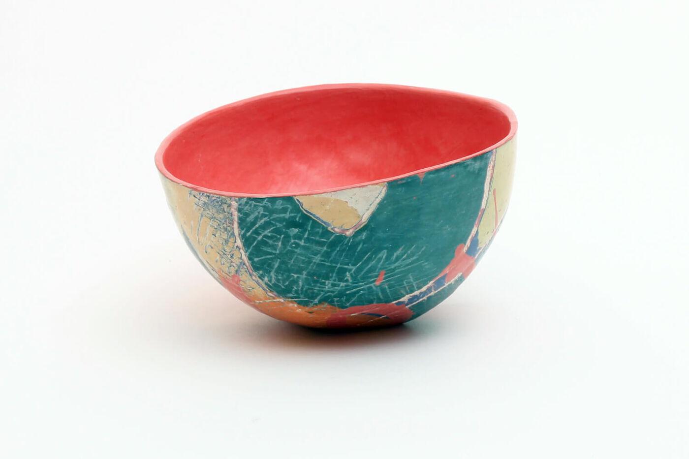 Carolyn Genders Ceramic Bowl 'Abstraction I'