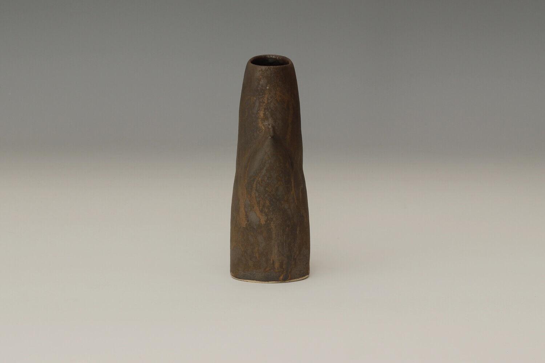 Chris Carter Masked Stoneware Form 64