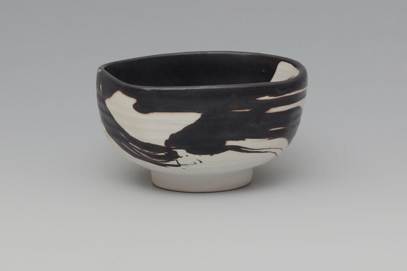 Eric Astoul Ceramic Footed Bowl 02