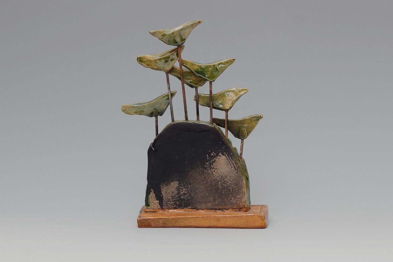 Ian Gregory Ceramic Bird Sculpture 06