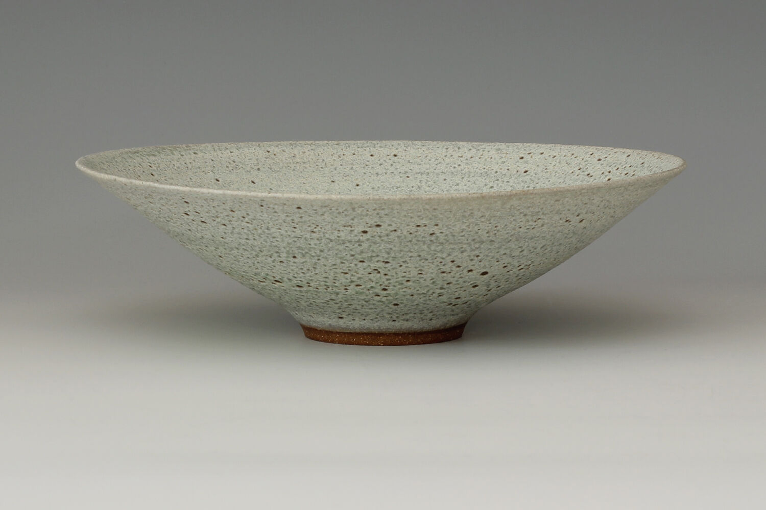 Peter Wills Ceramic Textured Pale Green Bowl 178