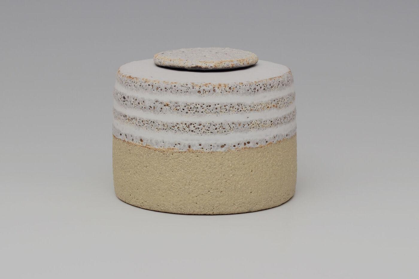 Rosalie Dodds Ceramic Pale Yellow Jar 02