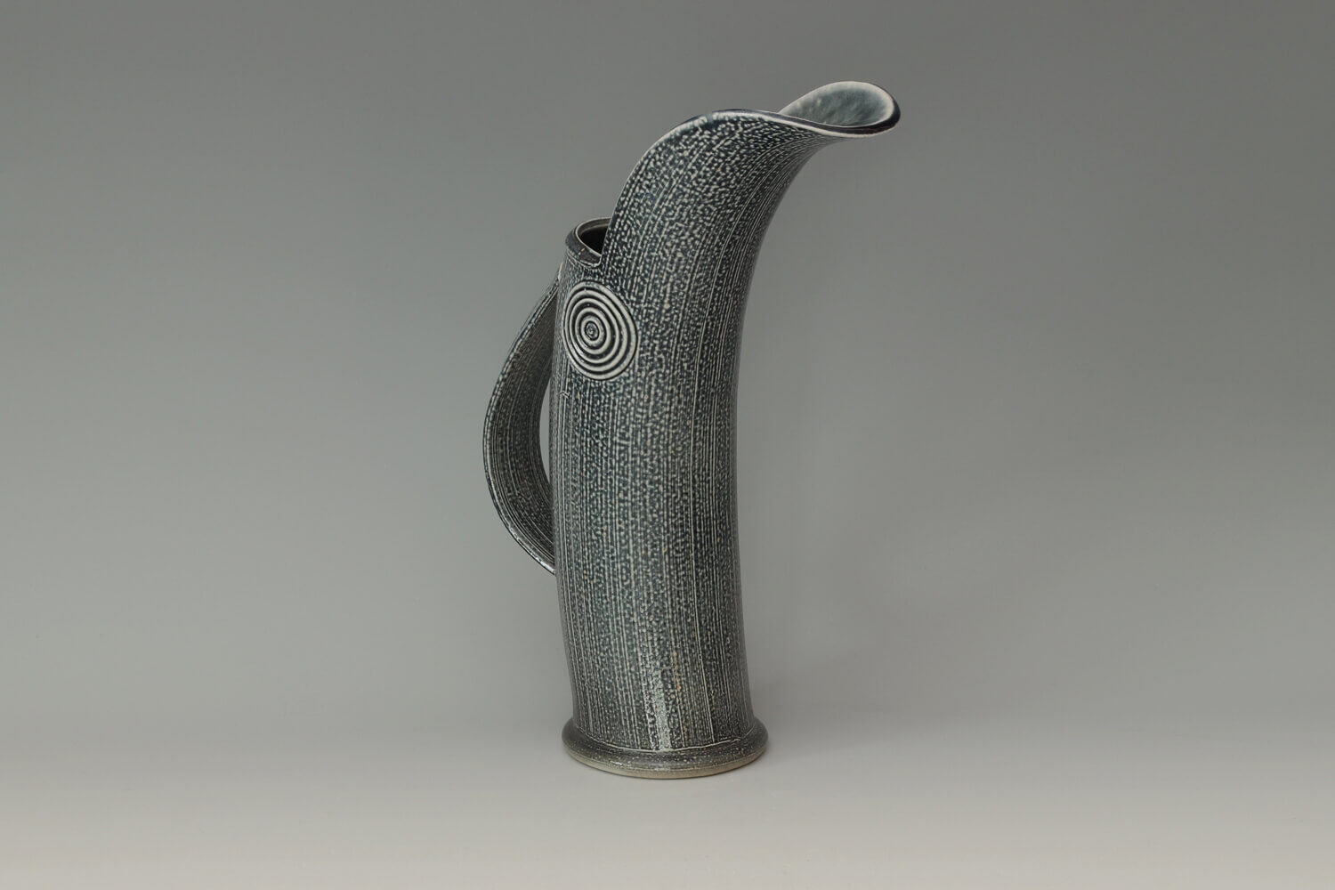 Walter Keeler Ceramic Salt Glazed Jug 054