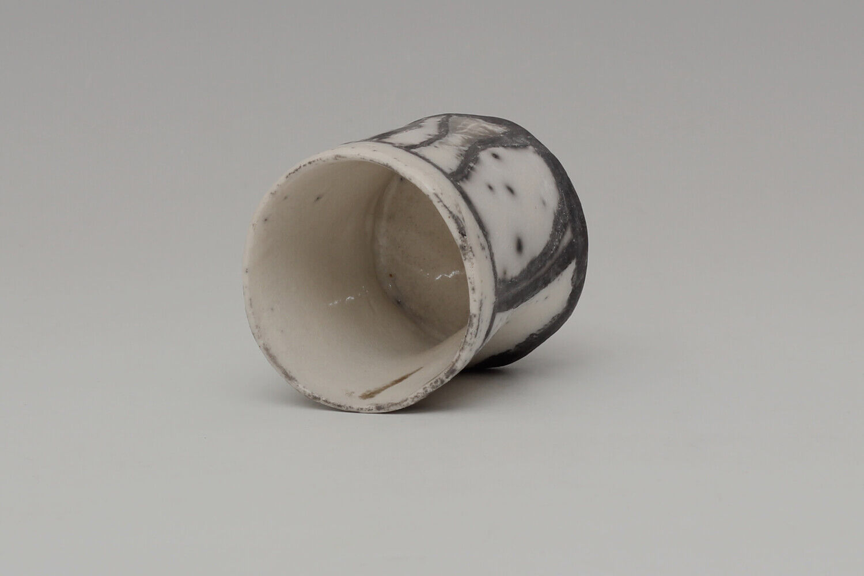 Elizabeth Raeburn Ceramic Raku Jasmin Cup 021