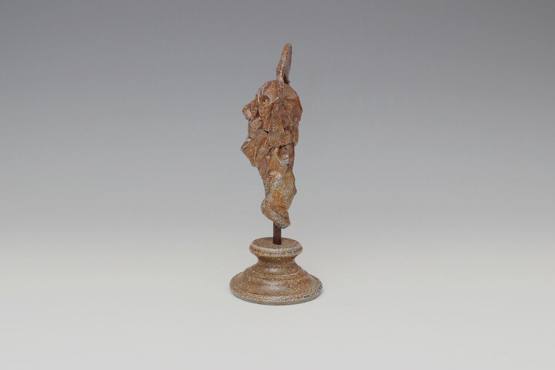 Ian Gregory Small Ceramic Head Sculpture 02