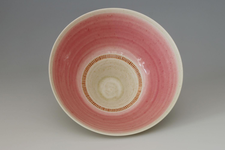 Peter Wills Ceramic Ash Glazed Porcelain Bowl 182