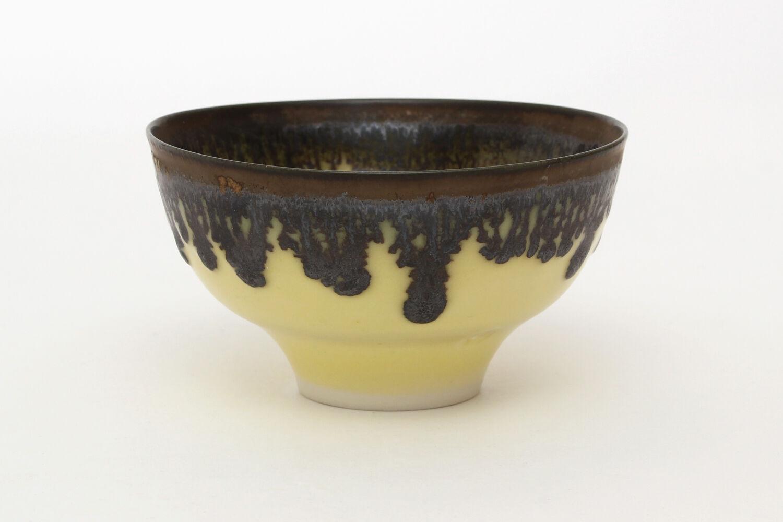 Peter Wills Yellow Porcelain Bowl 128