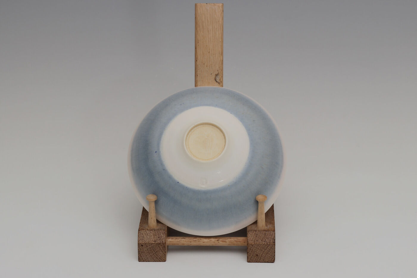 Peter Wills Ceramic Pale Blue Porcelain Bowl 211