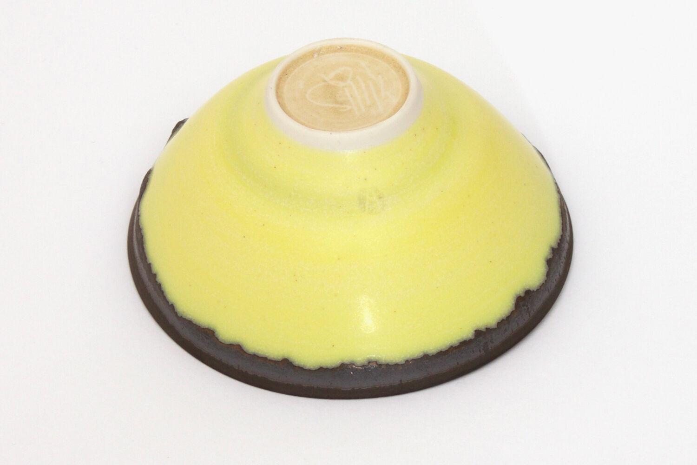 Peter Wills Yellow Porcelain Bowl 125