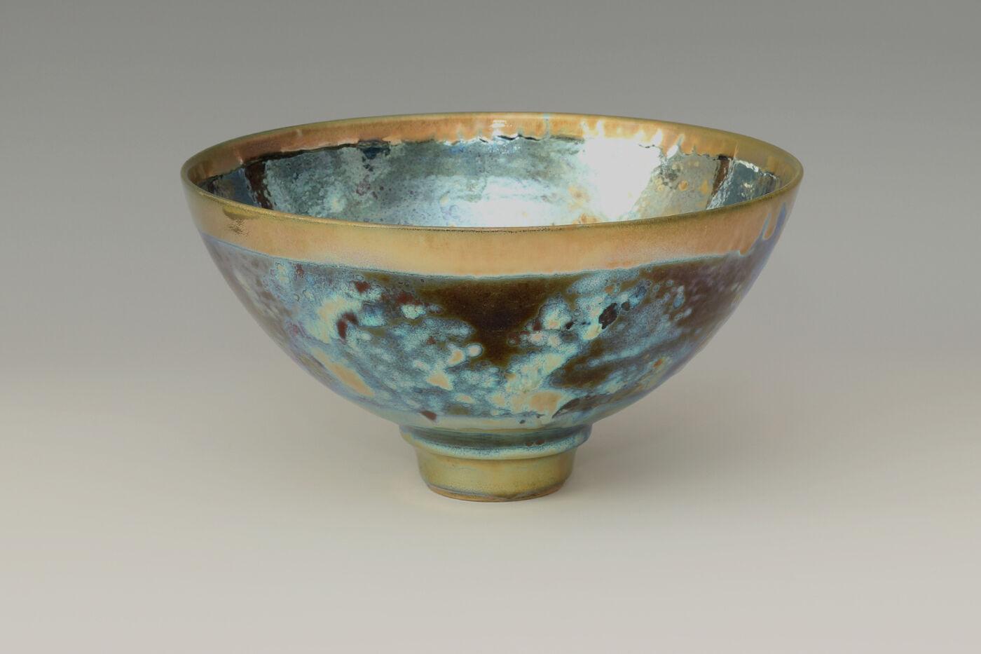 Sutton Taylor Ceramic Lustre-ware Bowl 08
