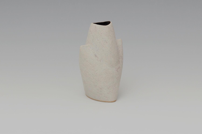 Chris Carter Ceramic White Masked Form 161