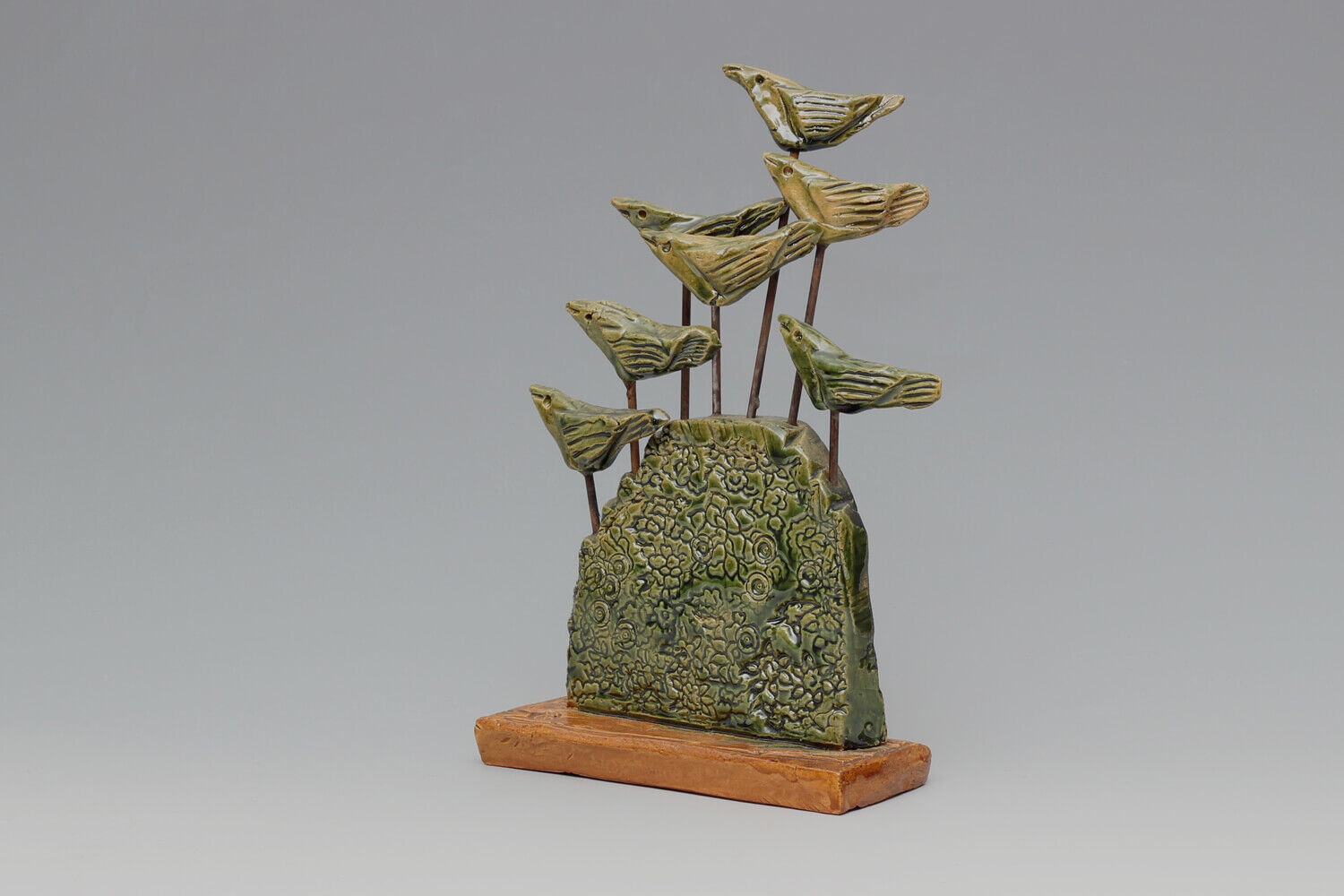 Ian Gregory Ceramic Bird Sculpture 06