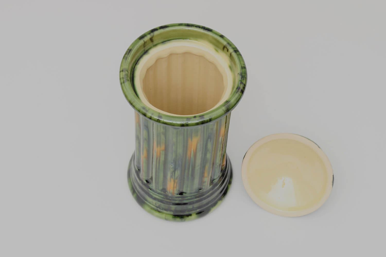 Walter Keeler Tall Ceramic Earthenware Jar 15