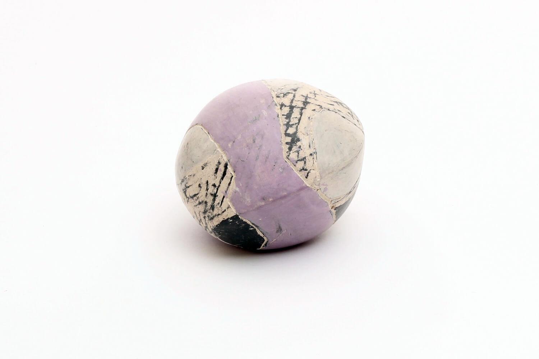 Carolyn Genders Ceramic Sculptural Pebble 01